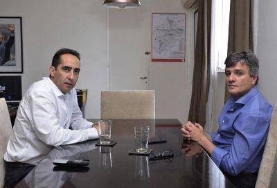 Zabaleta se reunió con Tagliaferro para avanzar en políticas conjuntas
