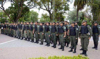 La Gendarmería Nacional ya recorre las calles de Almirante Brown