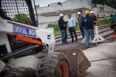 Tras más de un año, se abrió el paso en el cruce de 9 de Julio con Juncal