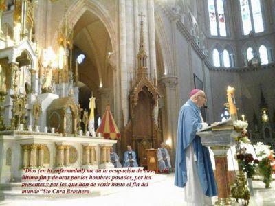 Más de 2000 enfermos peregrinaron a la Madre de Luján