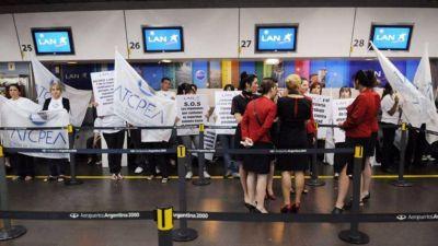 Aeroparque: podría haber demoras por una protesta gremial