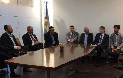 La DAIA se reunió con el embajador argentino en Israel