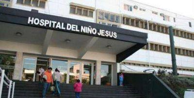 Hay paro de médicos en el Hospital de Niños