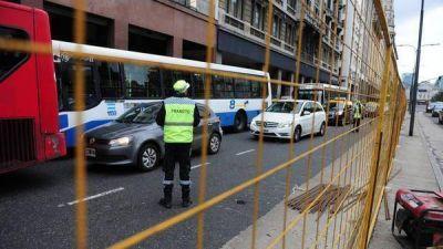 Metrobus: arranca la obra en el Bajo y habrá cortes en la zona hasta abril de 2017