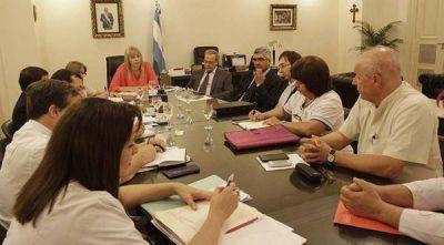 La ministra de Salud recibió a los gremios SITAS y ATE