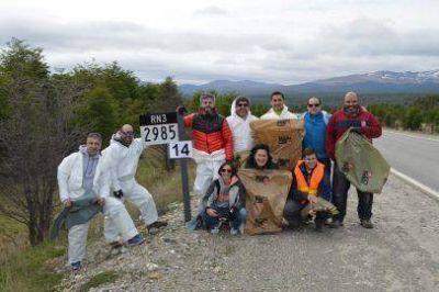 Comenzó la limpieza de la ruta nacional 32