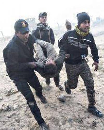 Avance contra el EI en Mosul