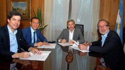 La Provincia firmó convenios con Nación por 90 millones en obras