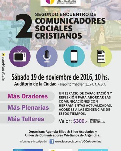 Segundo Encuentro de Comunicadores Cristianos en Buenos Aires