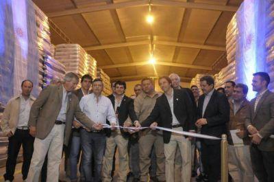 Peppo participó en inauguración de obras en planta industrial de Charata y ratificó acompañamiento al sector privado