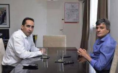 Zabaleta y Tagliaferro avanzan en políticas conjuntas