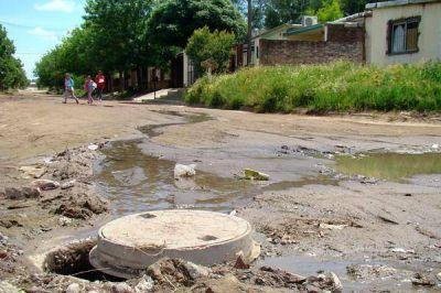 Presupuesto 2017: incluyen 120 millones para obras de agua y cloacas en Santa Rosa