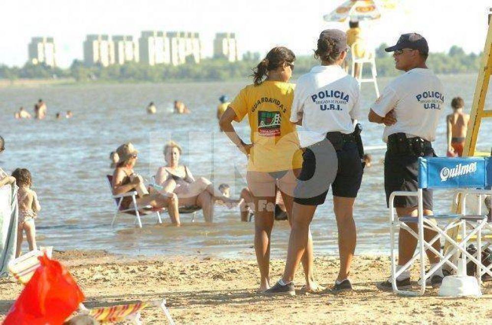 Buscan coordinar seguridad en las playas antes del 15 de noviembre