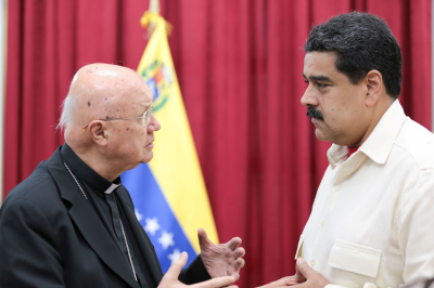 """El diálogo en Venezuela es posible gracias """"al rol que juega la figura del Papa Francisco"""""""