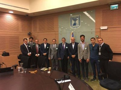Israel: la DAIA se reunió con el diputado de la Knesset Manuel Trajtenberg