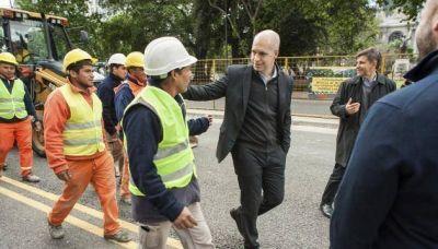 """Metrobus del Bajo: """"La obra va a estar terminada en abril"""""""