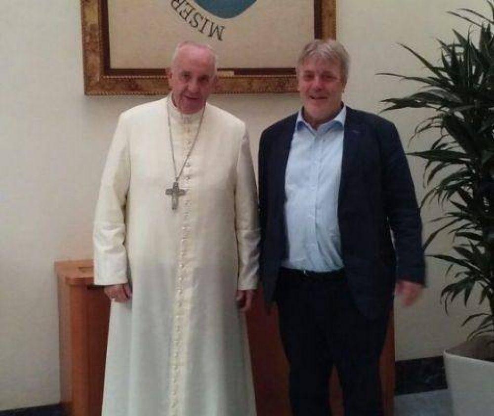 Vera se reunió con el Papa