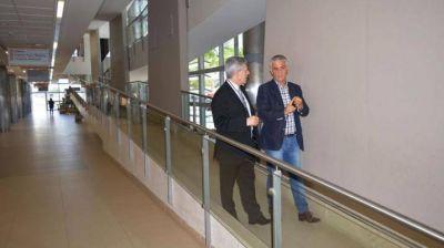 El Dr. Daniel López Rosetti visitó el CIS La Banda
