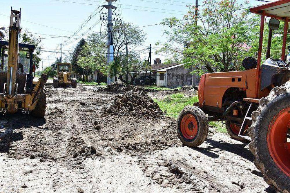 Más barrios beneficiados con la puesta a punto de servicios integrales
