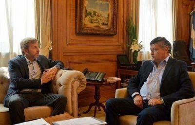Peppo se reunió con Frigerio por la reanudación de las viviendas paradas