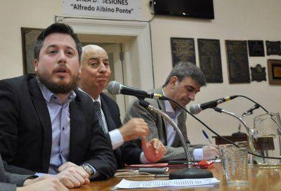 Por mayoría, el Concejo pidió la renuncia de Marisco a Bahía Transporte Sapem