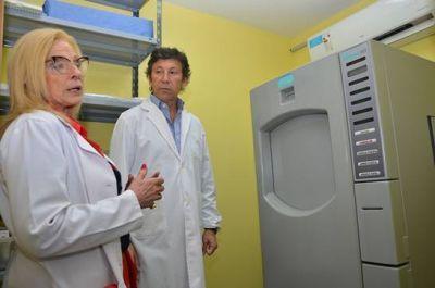 El Hospital Central de San Isidro sumó un equipo esterilizador de última generación