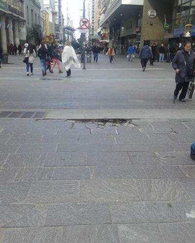 El municipio proyecta mejoras en la Peatonal San Martín