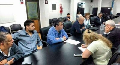 Primera reunión paritaria entre el STMA y el Municipio