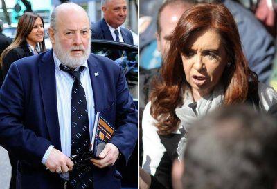 Bonadio rechazó el pedido de nulidad de CFK sobre las tasaciones