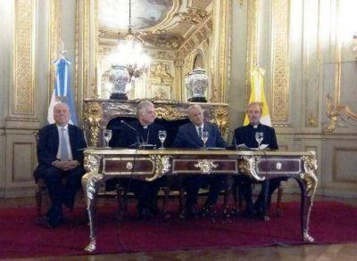 Con un acto en la Cancillería se conmemoró el Acuerdo de 1966