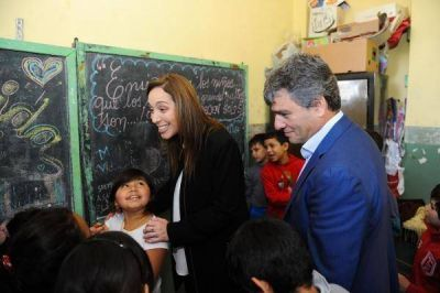 Vidal recorrió Hurlingham y después se reunió con el gobernador de Sao Pablo