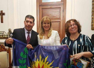 Verónica Magario se reunió con el gobernador y los intendentes de La Rioja