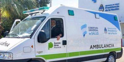 Llegó la ambulancia que Macri y Vidal anunciaron para San Pedro