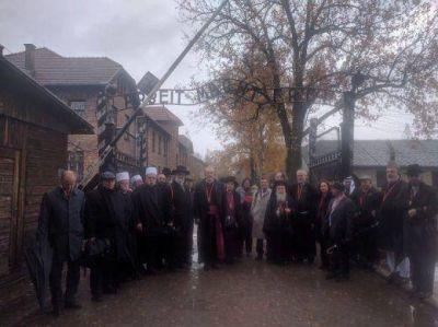 Referentes de todas las religiones visitan Auschwitz para promover la Paz