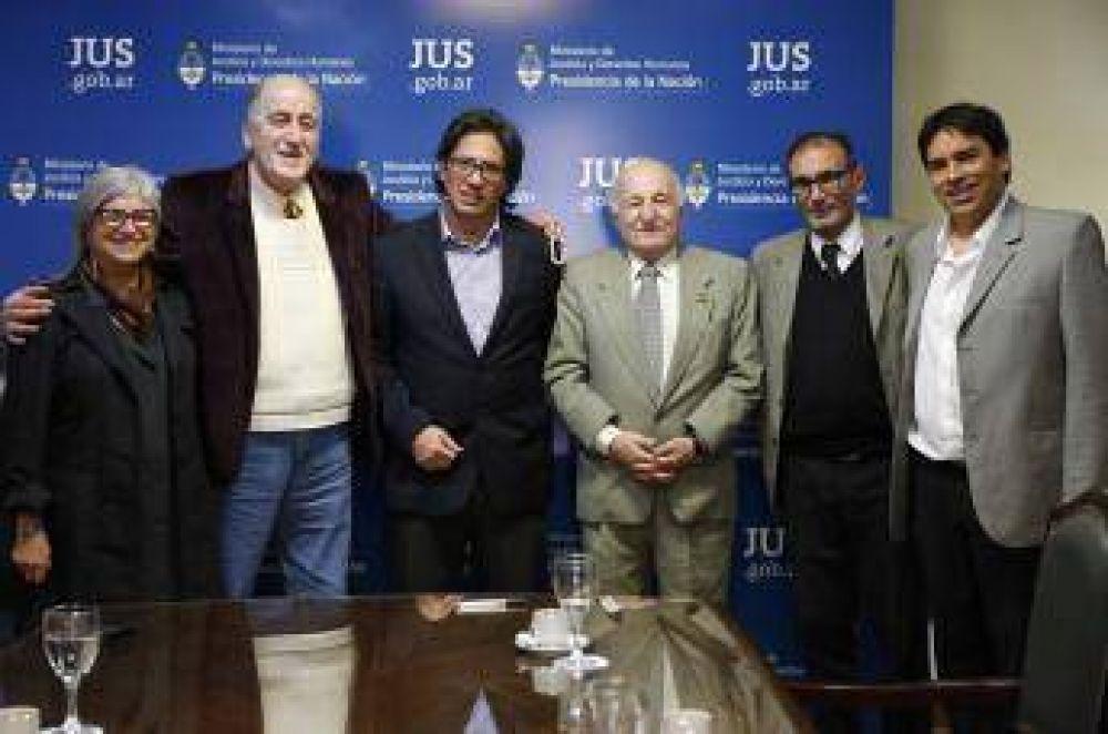 Ministro de Justicia recibió a representantes de la comunidad árabe islámica argentina