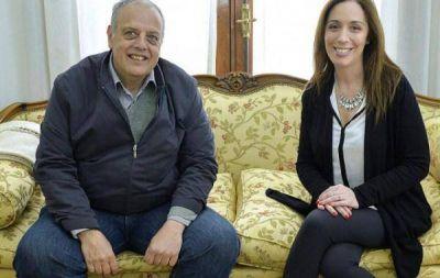 Vidal se reunió con el intendente de Lavalle, Rodríguez Ponte
