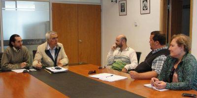 Paritarias 2017 | Funcionarios municipales recibieron a representantes de ATE