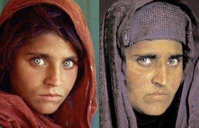 La niña de la National Geographic será deportará a Afganistán
