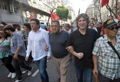 Pablo Micheli hizo echar del acto de la CTA a Boudou, Mariotto y Esteche