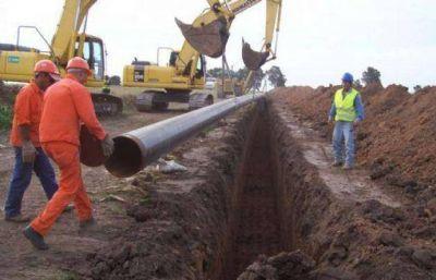 Prometen 7 mil empleos por cloacas y gasoductos