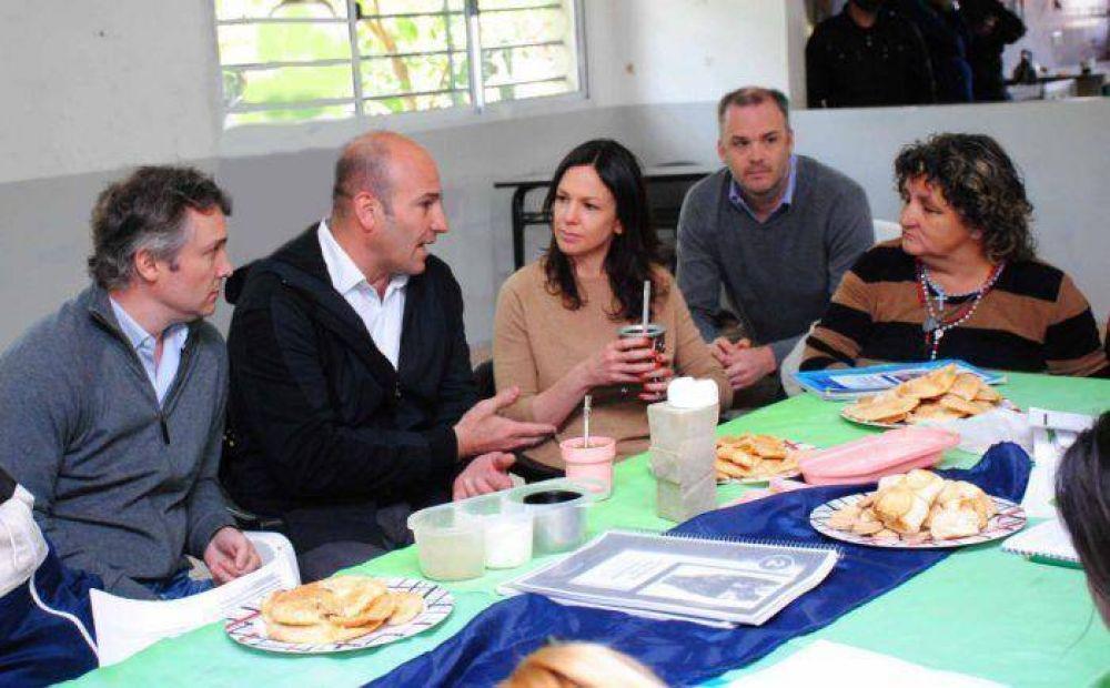 Carolina Stanley y Martiniano Molina impulsan emprendimientos programas sociales