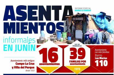 En los asentamientos de Junín las prioridades son agua potable y cloacas
