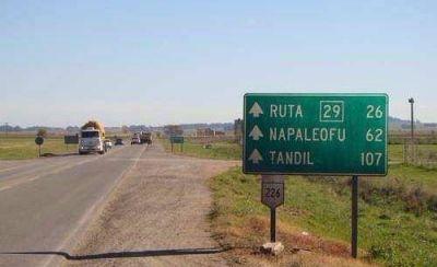 De Luca y Reino anuncian la repavimentación de la ruta 226 entre Balcarce y Tandil