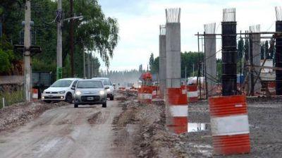 Obras viales e hídricas concentran las partidas de Nación a Río Negro