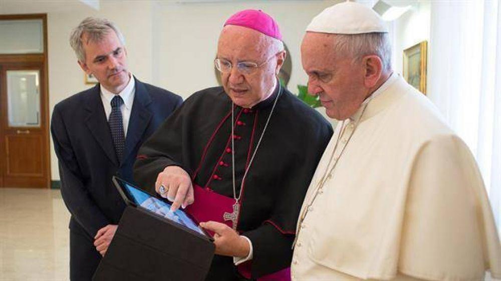 El enviado del Papa, elogiado por la oposición venezolana