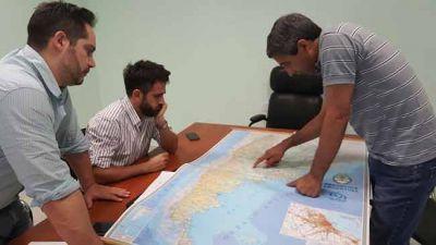Marín visitó localidades del oeste provincial