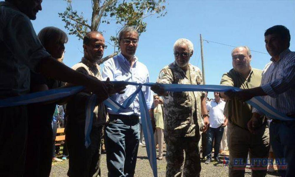 Con el estreno de la seccional Cambyretá se inició el traspaso para el futuro Parque Nacional Iberá