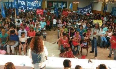 Movimiento Evita tuvo su plenario con críticas a Macri