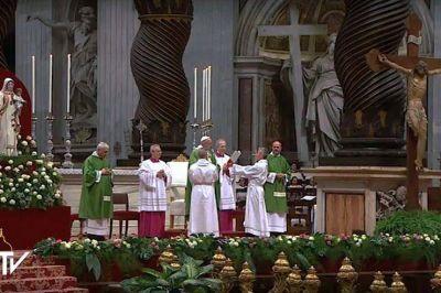 Texto completo de la homilía del papa Francisco en el jubileo de los reclusos