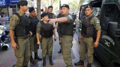 Le llega el turno a la Octava: los gendarmes arriban a la ciudad de La Plata en diciembre